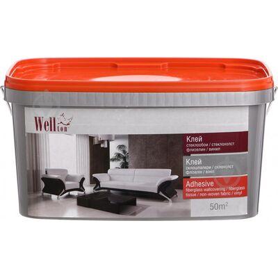 Wellton Клей для склошпалер готовий, 10кг