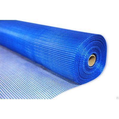 Штукатурна сітка 145 г / м2 WORKS Синя, 5ммх5мм, рулон 1м * 50м