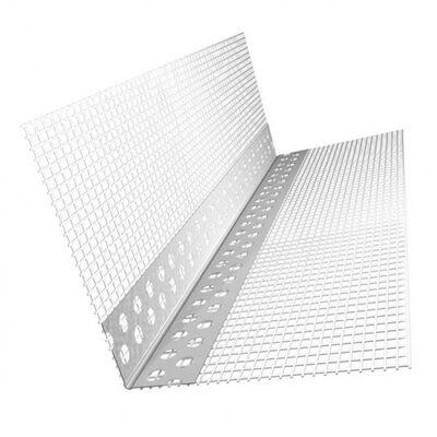 Профіль з сіткою 7х7см перфорований алюмінієвий, 3м