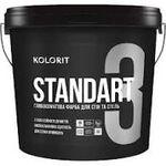 Колорит Standart 3 (Стандарт) 0,9л, База С, интер мат, латексная краска