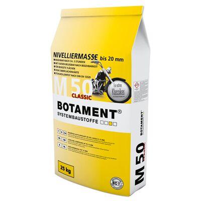Botament Самовиривнивающая смесь для полов M 50 Classic, толщ. 0-20мм, 25кг