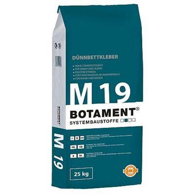 Botament Тонкослойная клеящая смесь М19, 25кг
