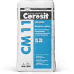 CERESIT CM-11 Клей для керамической плитки Ceramic, мешок 25 кг