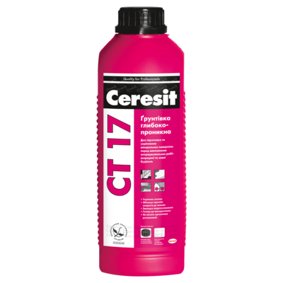 CERESIT Грунт CT-17, 2 літрів