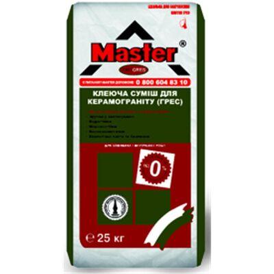 MASTER PROGRES Клей для приклеивания плит из керамогранита, 25кг