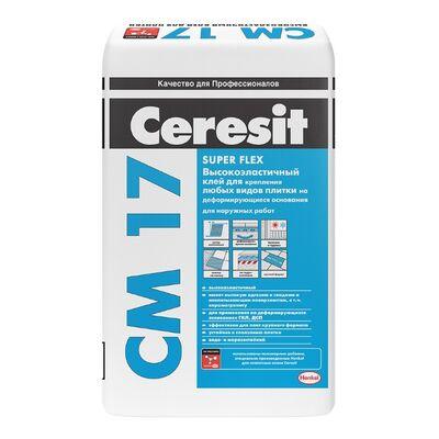 CERESIT CM-17 высокоэластичные клей для плитки, мешок 25 кг