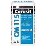 CERESIT CM-115 Клеюча суміш для мармуру, мішок 25 кг