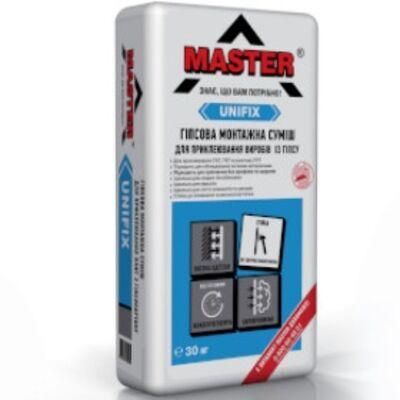 MASTER UNIFIX Клей для гипсокартона и откосов, 30кг
