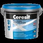 CERESIT CE-40 (бежевый-Багама) ластични водостойкой Цветовое шов до 5мм, 2кг