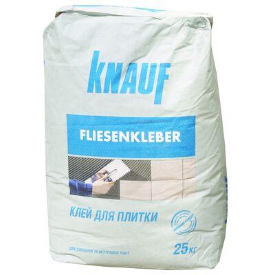 KNAUF Клей для плитки ФЛІЗЕНКЛЕБЕР, мішок 25 кг