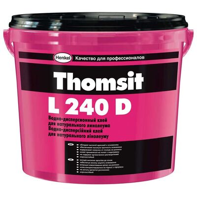 THOMSIT L 240 D Клей для натурального линолеума, 14кг