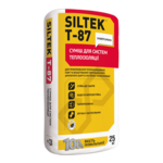 SILTEK Т-87 / 25кг Смесь для систем теплоизоляции