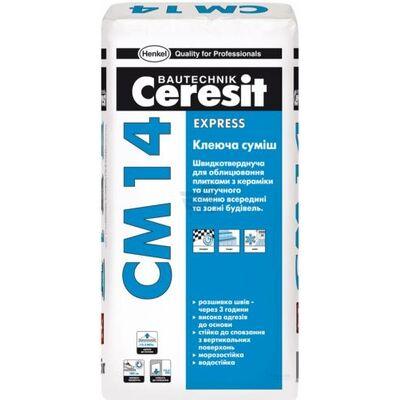 CERESIT CM-14 Клей швидкотвердіючий 25 кг