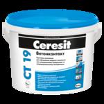 CERESIT CT-19 Грунтовка адгезионная Бетонконтакт 4,5кг