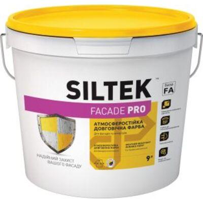SILTEK Faсade Pro Краска атмосферостойкая фасадная 9л
