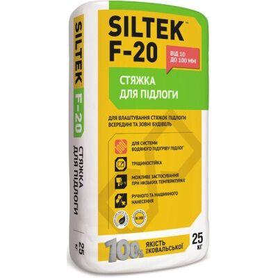 SILTEK F-20 / 25кг Стяжка для пола толщиной до 100 мм