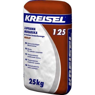 Kreisel 125 Смесь для кладки блоков из ячеистого бетона ЗИМА 25кг
