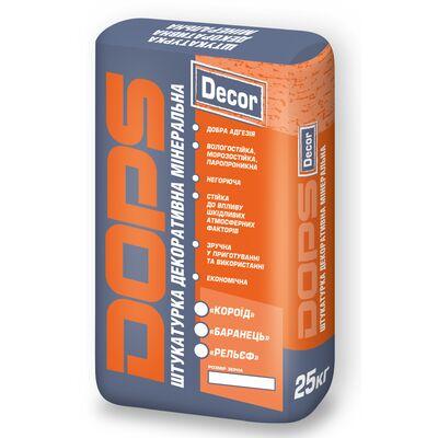 DOPS 25 ЗИМА клей для газо- и пено- блоков 25 кг (-10)