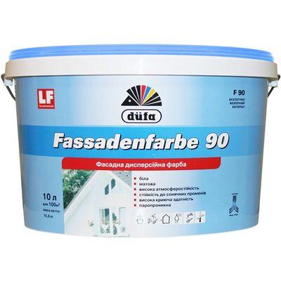 DUFA Краска фасадная FASSADENFARBE (F 90), 10л