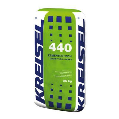 Цементна стяжка Kreisel 440 посиленням 25 кг (42)
