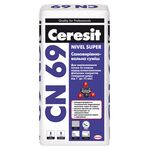 CERESIT СN-69 Самовыравнивающаяся смесь (толщина слоя от 3 до 15 мм.), Мешок 25 кг