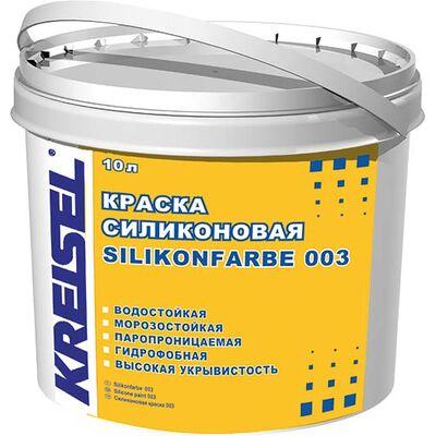 Kreisel 003 Краска силиконовая фасадная д / покрытие мин.штукат. 15л База В