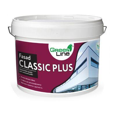 GREEN LINE Фасадная краска Fasad Classic Plus 10л