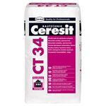 CERESIT CT-34 Штукатурка декоративная гладкая, кг25
