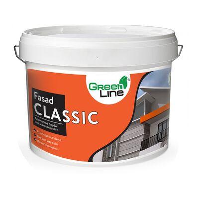GREEN LINE Фасадна фарба Fasad Classic 10л