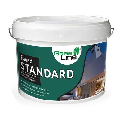 GREEN LINE Фасадная краска Fasad Standard 10л
