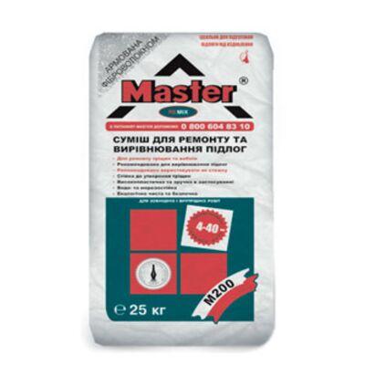 MASTER REMIX ремонтна суміш для підлог-М200 сер., 25кг