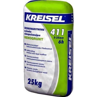 Kreisel 411 Суміш для підлоги самовирівнююча 5-35 мм 25кг
