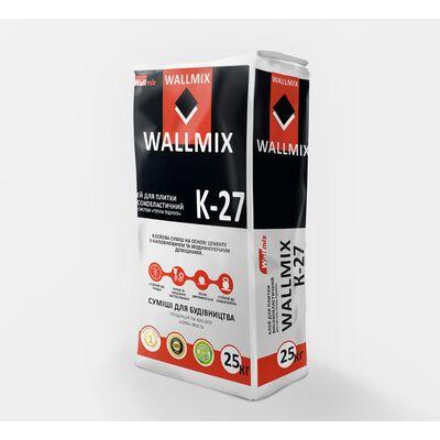 Wallmix K27 Клей для плитки высокоэластичные