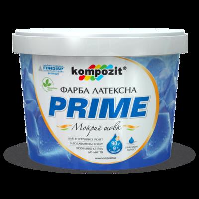 Краска интерьерная латексная 'PRIME' (9 л)