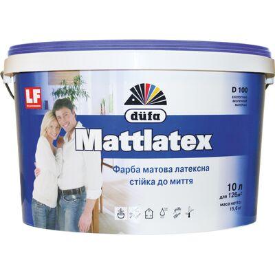 DUFA Краска латексная матовая Mattlatex D100, 10 литров