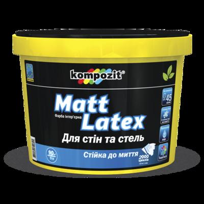Краска интерьерная 'Matt Latex' (2,7 л)