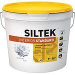 SILTEK Interior Stаndard Краска глибокоматова интерьерная. Устойчива к сухому истиранию 9л