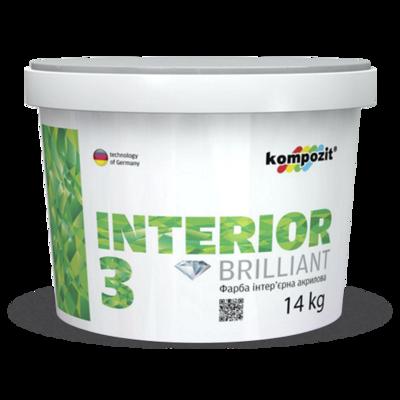 Краска интерьерная INTERIOR 3 (7 кг)