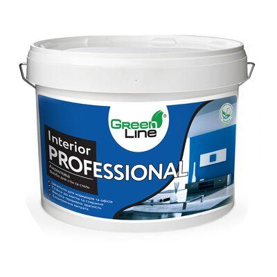 GREEN LINE Интерьерная акриловая краска Interior Professional 10л