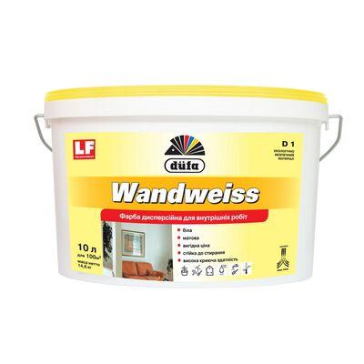 DUFA Краска дисперсионная Wandweiss (D 1), 10 литров
