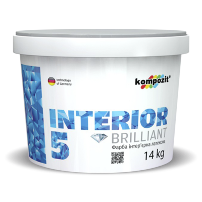 Фарба інтер'єрна INTERIOR 5 (1,4 кг)