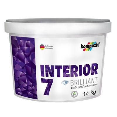 Фарба інтер'єрна латексна INTERIOR 7 База-З (14 кг)