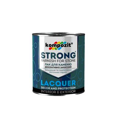 Лак для камня / грунтовка STRONG (0,9 л)