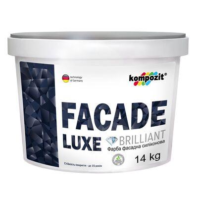 Фарба фасадна силіконова FACADE LUXE (4,2 кг)