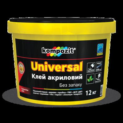 Клей акриловий УНІВЕРСАЛЬНИЙ (12 кг)
