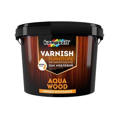 Лак мебельный AQUA WOOD глянцевый (3 л)