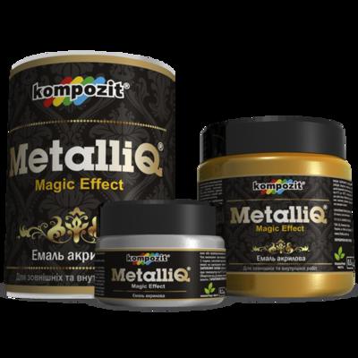 Емаль акрилова MetalliQ
