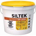 SILTEK Interior Top Latex Краска латексная интерьерная. Стойкая к мытью 9л