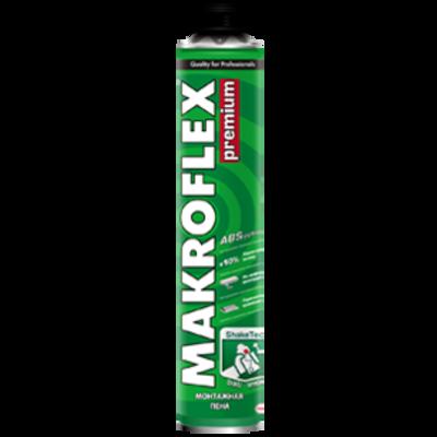 MAKROFLEX Піна монтажна PU PRO PREM (під пістолет), 770мл