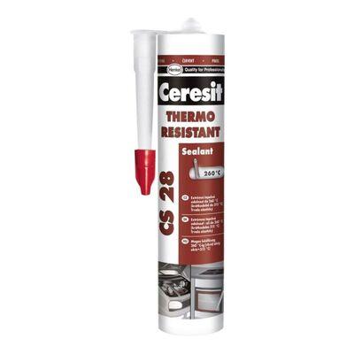CERESIT CS-28 Термостойкий герметик, 300мл